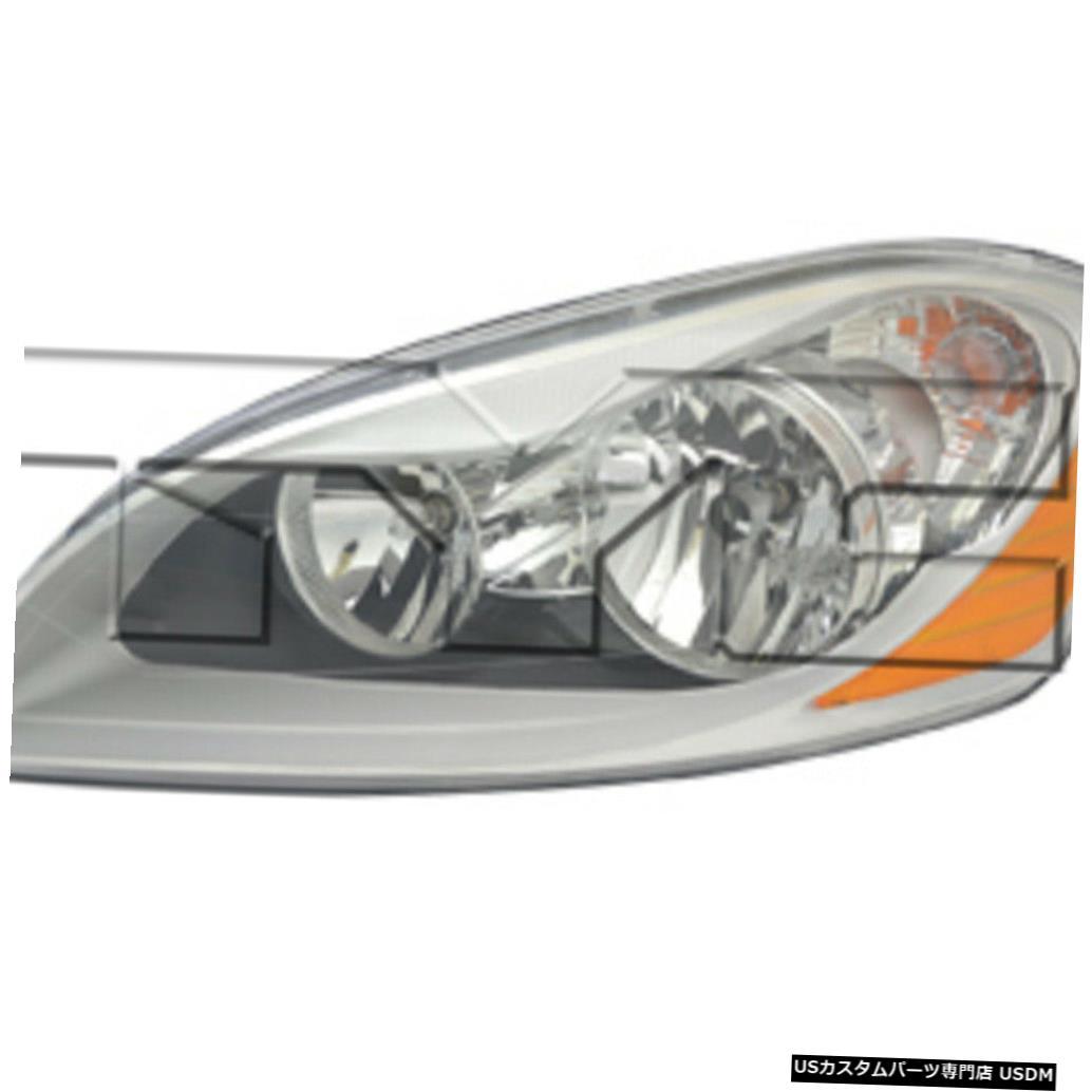 ヘッドライト 10-13ボルボXC60ハロゲンドライバーヘッドライト 10-13 Volvo XC60 Halogen Driver Headlight