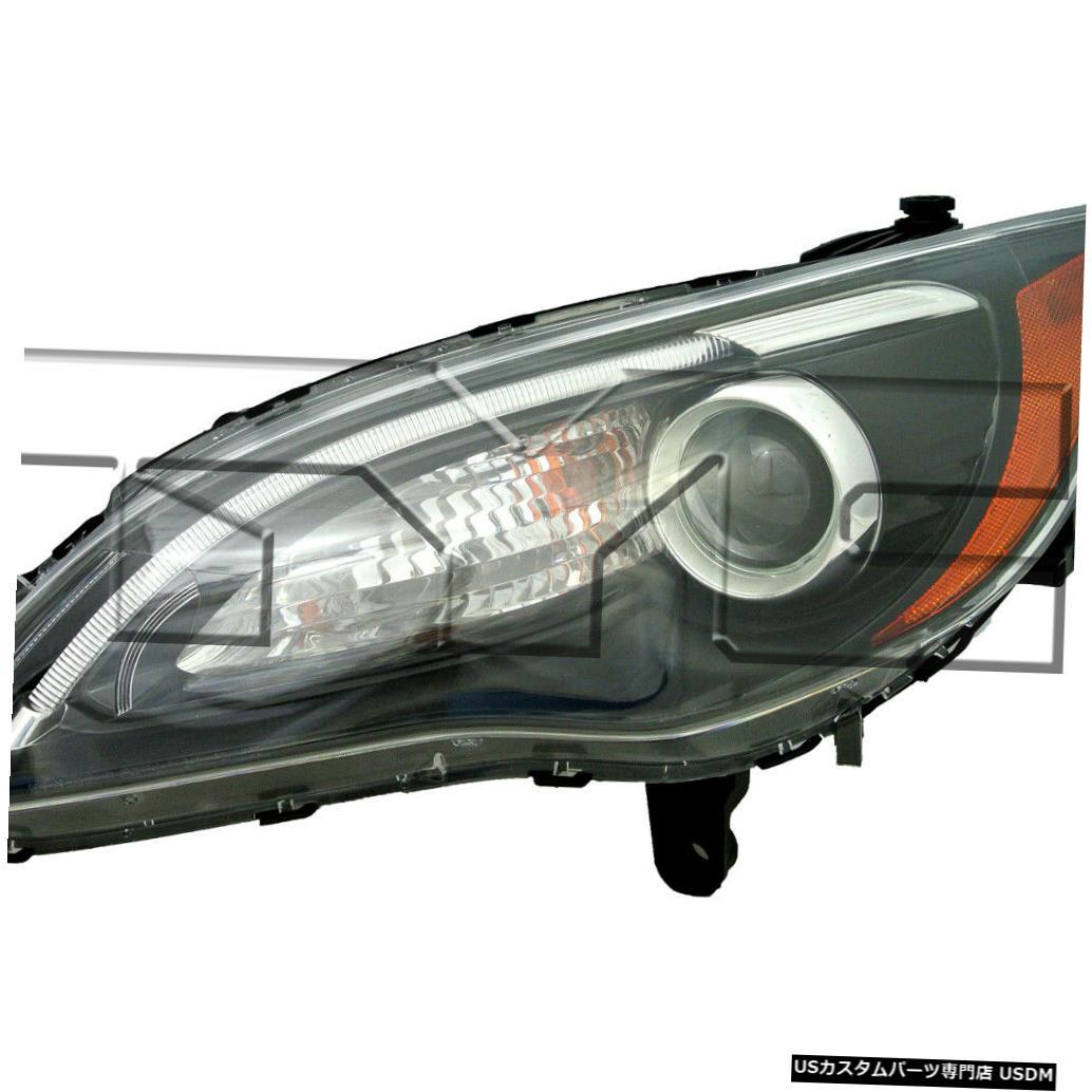 ヘッドライト 11-12クライスラー200 Sモデル左ドライバーヘッドライトヘッドランプNSF 11-12 Chrysler 200 S Model Left Driver Headlight Headlamp NSF