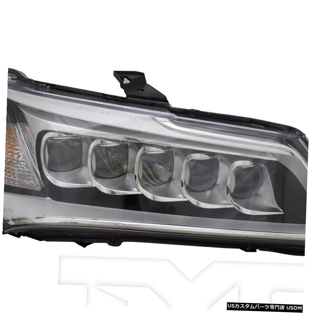ヘッドライト 14-16 Acura MDX LED右助手席ヘッドライトヘッドランプCAPA 14-16 Acura MDX LED Right Passenger Headlight Headlamp CAPA