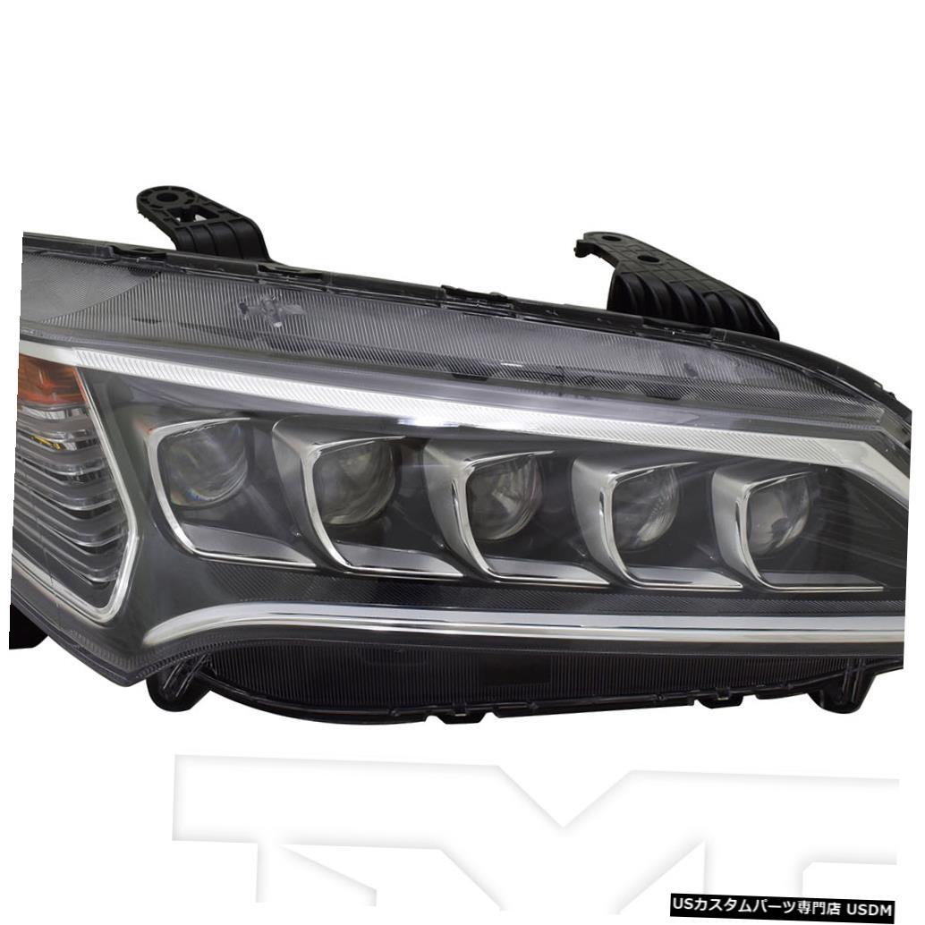 ヘッドライト 15-17 Acura TLX LEDヘッドライトフロントランプ助手席右側 15-17 Acura TLX LED Headlight Front Lamp Passenger Right Side