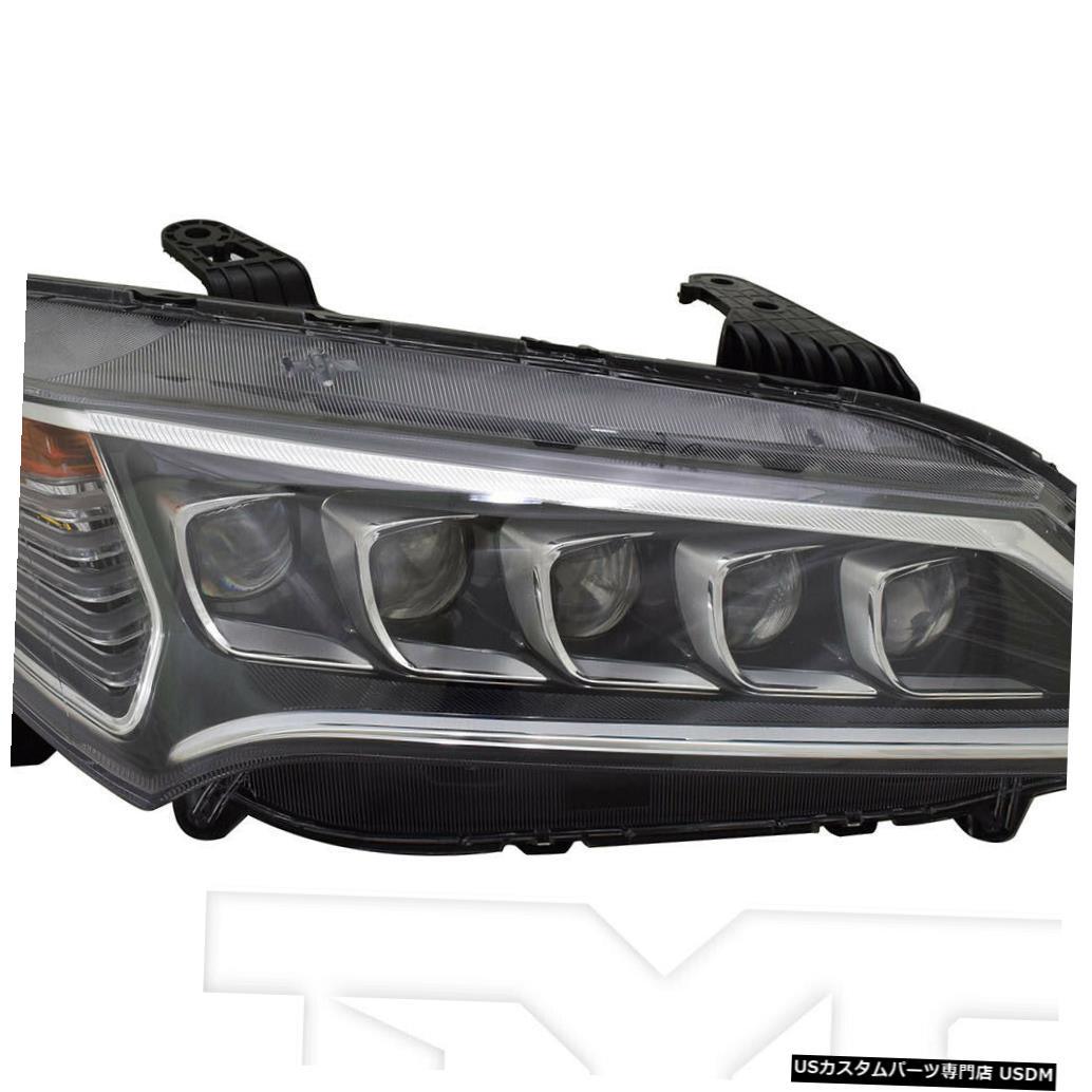 ヘッドライト 15-17 Acura TLX LED右助手席ヘッドライトヘッドランプNSF 15-17 Acura TLX LED Right Passenger Headlight Headlamp NSF