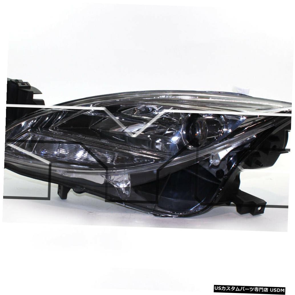 ヘッドライト 09-10 Mazda-6ハロゲンドライバーヘッドライトに適合 Fits 09-10 Mazda-6 Halogen Driver Headlight