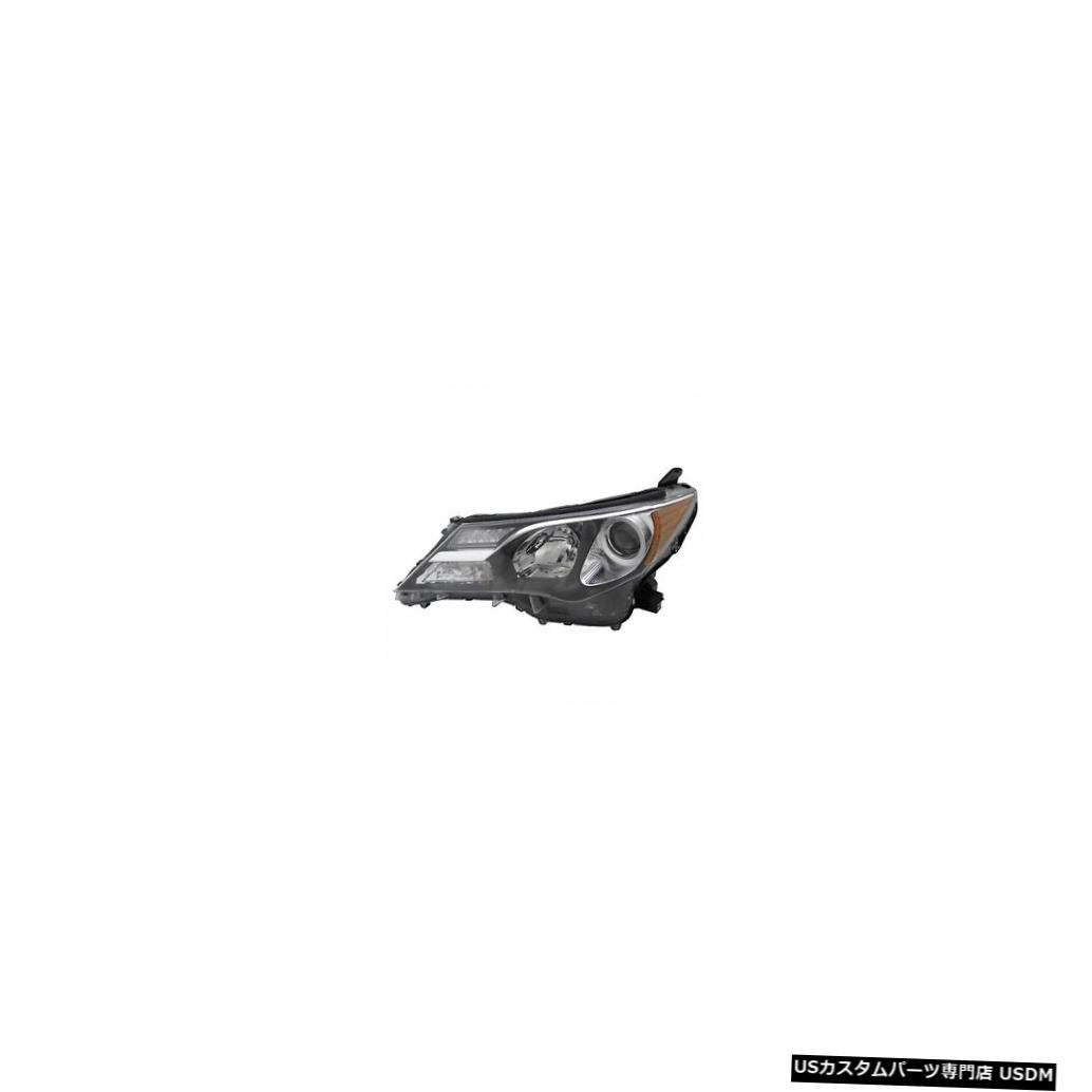 ヘッドライト 2013-2015トヨタRAV4ドライバー左側ハロゲンヘッドライトランプアセンブリ 2013-2015 Toyota RAV4 Driver Left Side Halogen Headlight Lamp Assembly