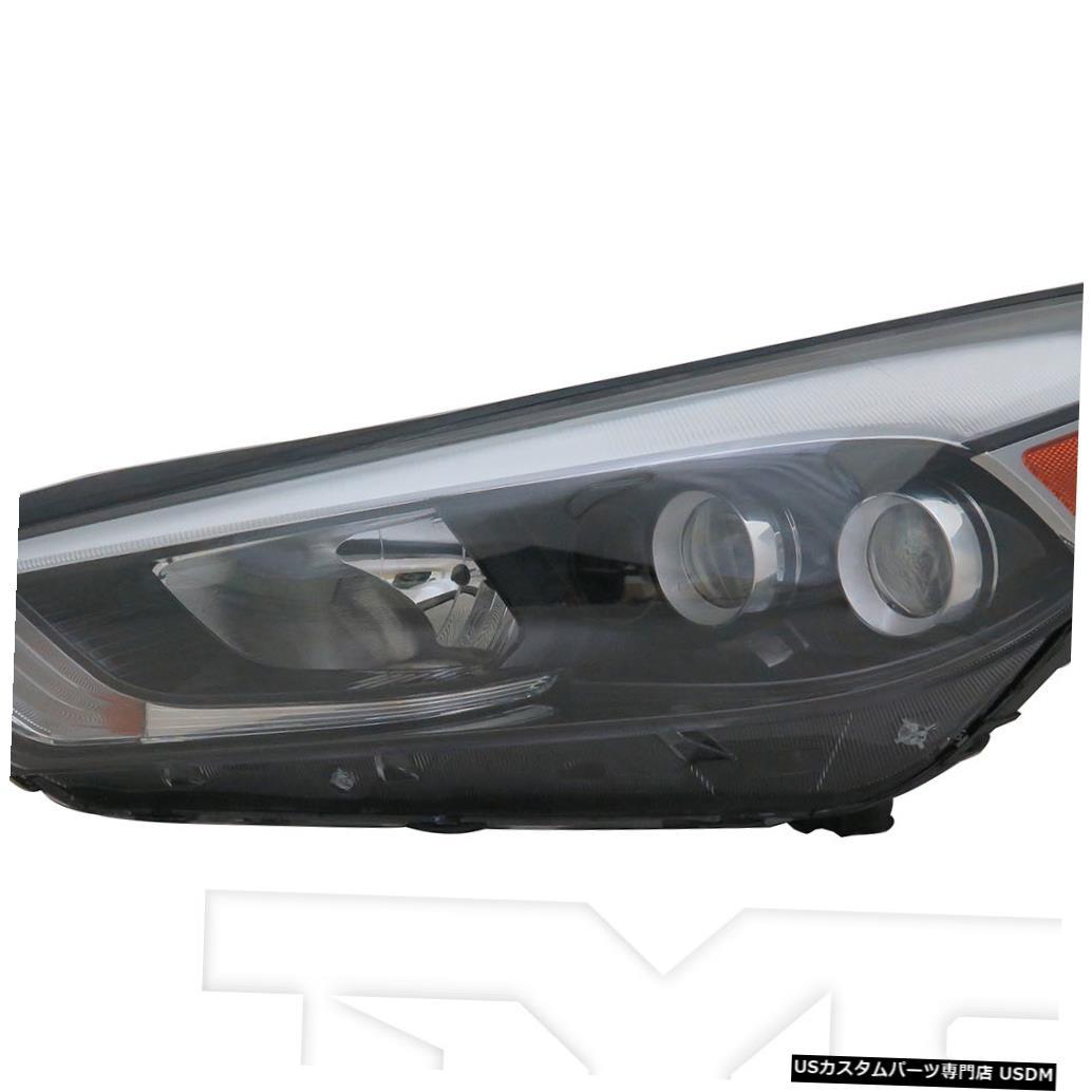 ヘッドライト 16-18ヒュンダイツーソンLED左ドライバーヘッドライトヘッドランプNSFに適合 Fits 16-18 Hyundai Tucson LED Left Driver Headlight Headlamp NSF
