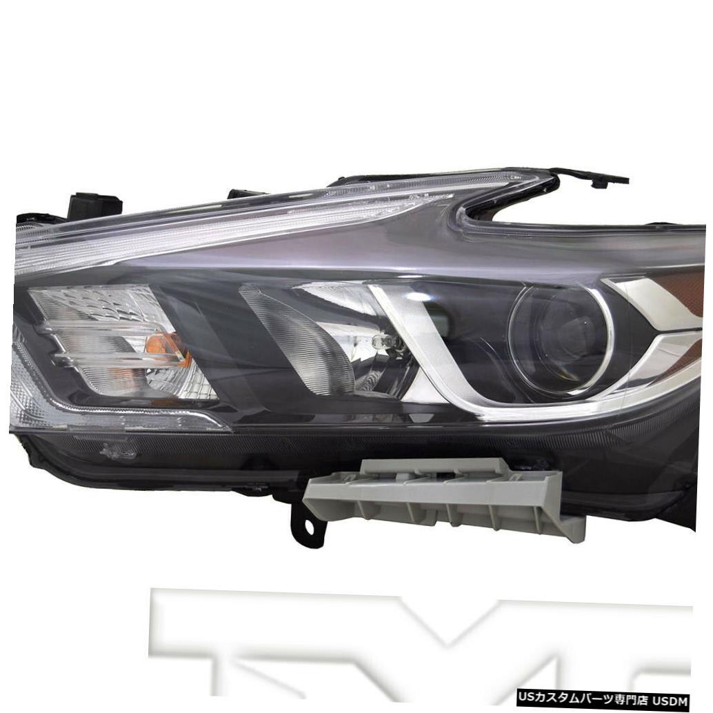 ヘッドライト 16-18日産マキシマLED(ロゴなし)に適合左ドライバーヘッドライトヘッドランプNSF Fits 16-18 Nissan Maxima LED w/o Logo Left Driver Headlight Headlamp NSF
