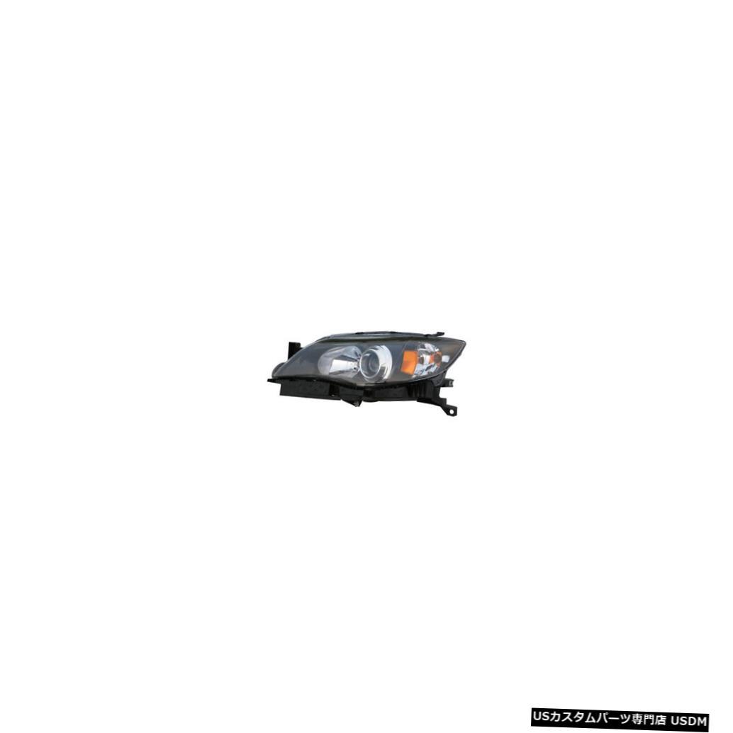 ヘッドライト 2008-2011スバルインプレッサ/ WRXドライバー左側ヘッドライトランプアセンブリに適合 Fits 2008-2011 Subaru Impreza/WRX Driver Left Side Headlight Lamp Assembly