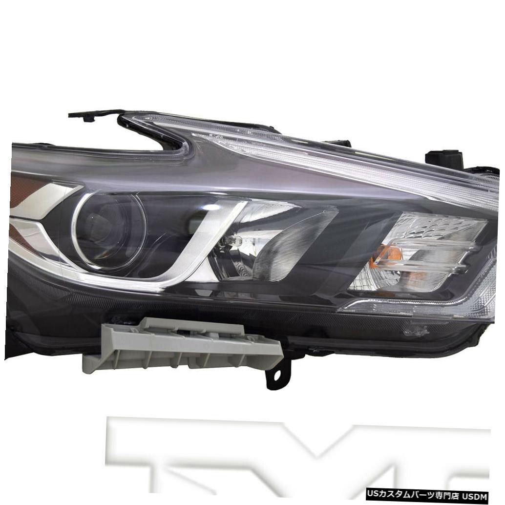 ヘッドライト 16?18日産マキシマLED(ロゴなし)に適合助手席ヘッドライトNSF Fits 16-18 Nissan Maxima LED w/o Logo Right Passenger Headlight Headlamp NSF