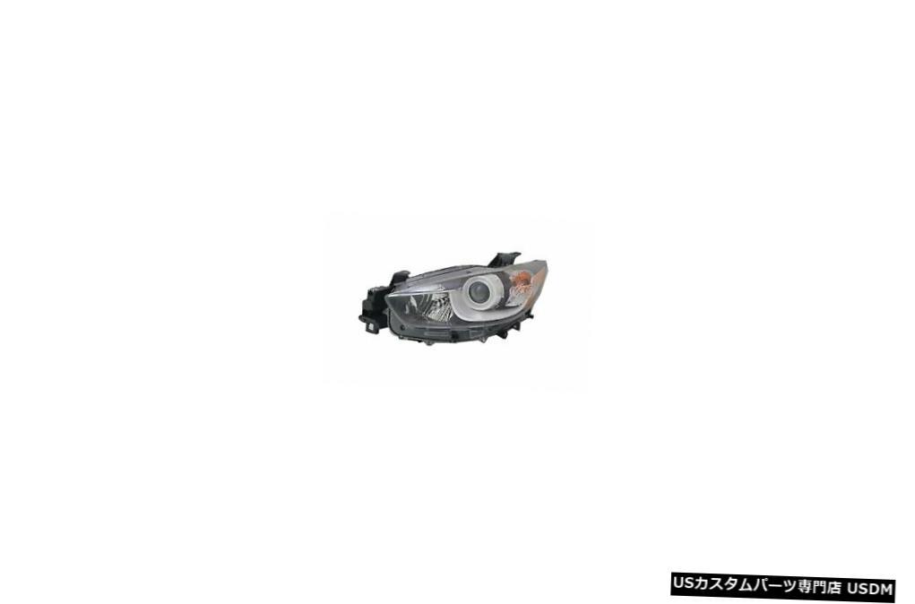 2020年最新海外 ヘッドライト 13-16マツダCX-5ハロゲンドライバーヘッドライトに適合 Fits 13-16 Mazda CX-5 Halogen Driver Headlight, 立田村 28a75c6c