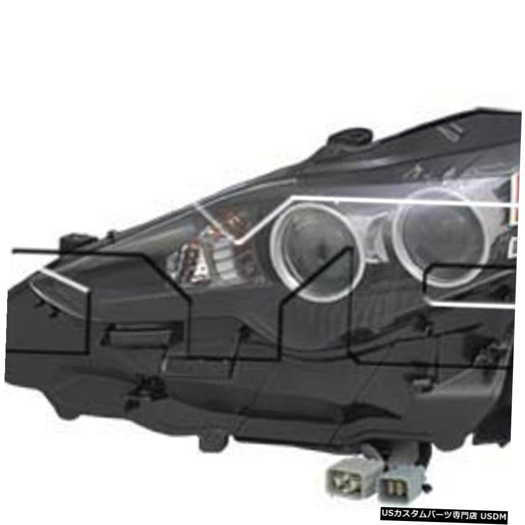 ヘッドライト 14-16レクサスIS250 / 350 LED左ドライバーヘッドライトヘッドランプNSF 14-16 Lexus IS250/350 LED Left Driver Headlight Headlamp NSF
