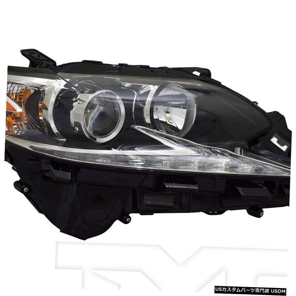 ヘッドライト 16-18レクサスES-350 / 300h w / o Intelハイビームヘッドライトパッセンジャー右側 16-18 Lexus ES-350/300h w/o Intel Hi-Beam Headlight Passenger Right Side