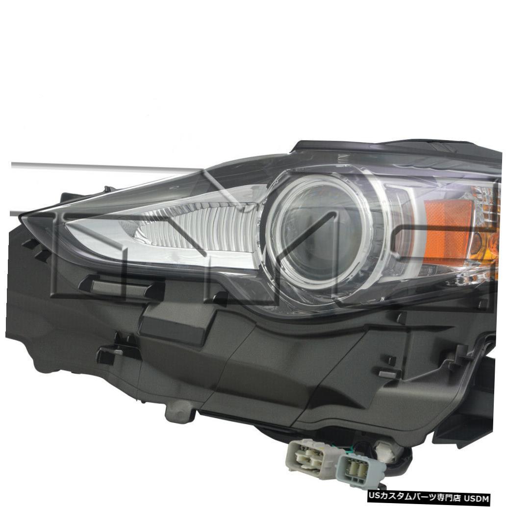 ヘッドライト 14-16レクサスIS250 / 350 HID左ドライバーヘッドライトヘッドランプNSF 14-16 Lexus IS250/350 HID Left Driver Headlight Headlamp NSF
