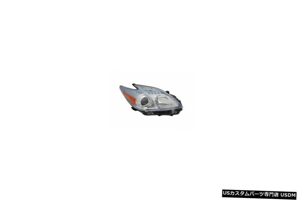 ヘッドライト 10-11トヨタプリウスハロゲン右助手席ヘッドライトヘッドランプNSF 10-11 Toyota Prius Halogen Right Passenger Headlight Headlamp NSF