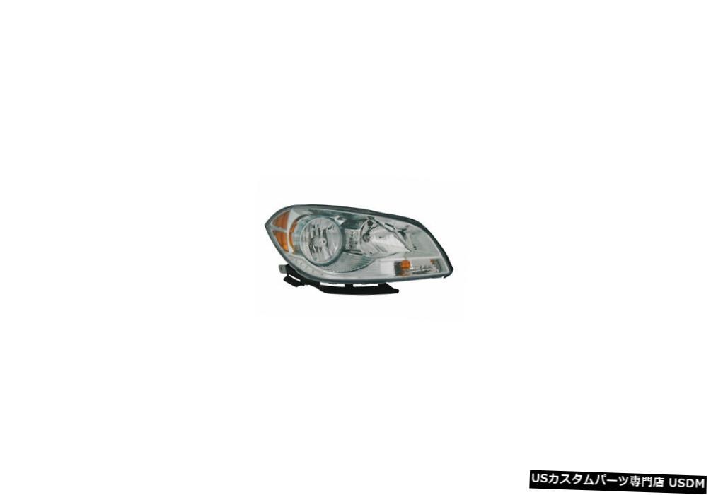 ヘッドライト Headlight Passenger Side 08-11シェビーマリブヘッドライトアセンブリ助手席側 08-11 Malibu Assembly Chevy