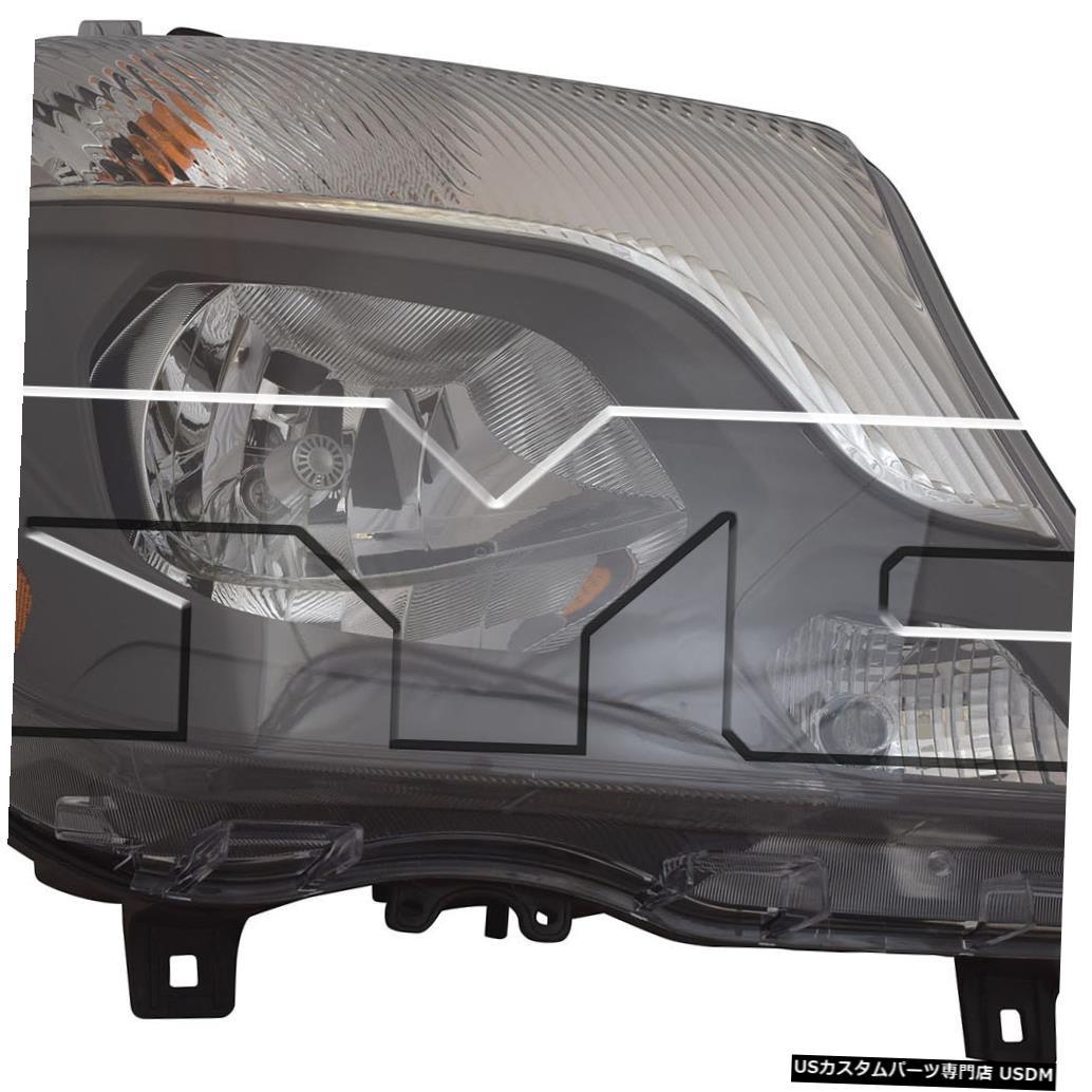ヘッドライト 14-16メルセデスベンツスプリンターヴァンハロゲンヘッドライトランプ乗客右側 14-16 Mercedes Benz Sprinter Van Halogen Headlight Lamp Passenger Right Side