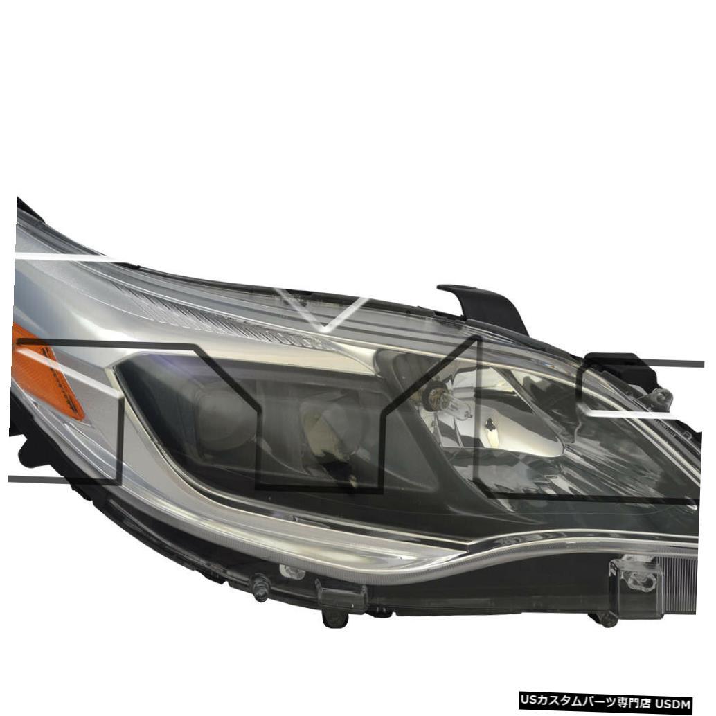 ヘッドライト 13-14トヨタアバロン/アバロンハイブリッドハロゲンパッセンジャーヘッドライト 13-14 Toyota Avalon/Avalon Hybrid Halogen Passenger Headlight
