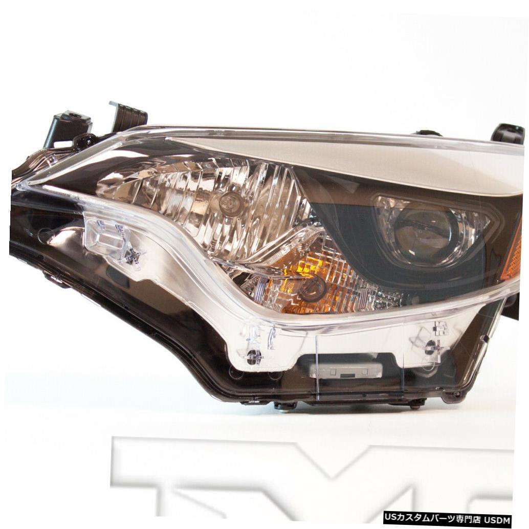 ヘッドライト 14-16トヨタカローラ左ドライバーヘッドライトヘッドランプNSF 14-16 Toyota Corolla Left Driver Headlight Headlamp NSF