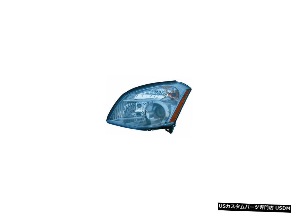 ヘッドライト 2007-2008日産マキシマドライバー左側ヘッドライトランプアセンブリに適合 Fits 2007-2008 Nissan Maxima Driver Left Side Headlight Lamp Assembly