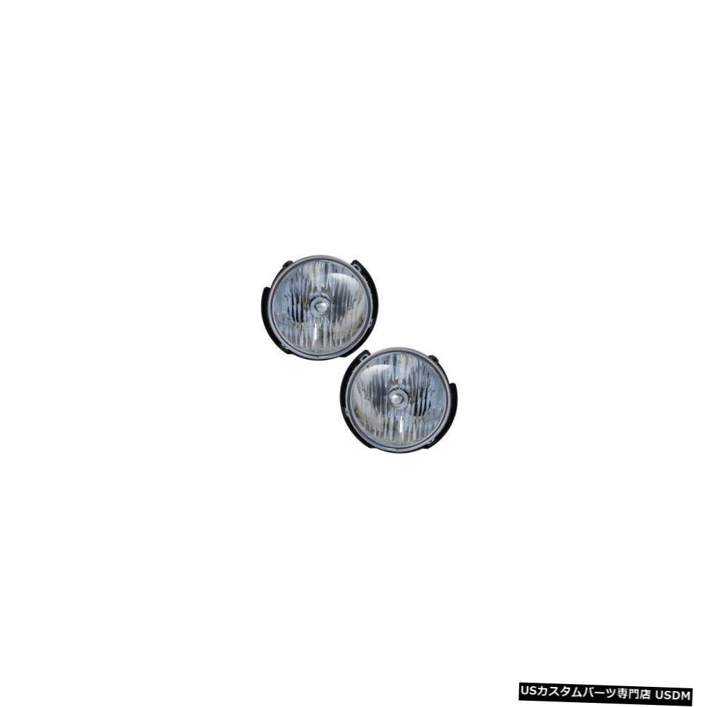 ヘッドライト 2007-2016 Jeep Wrangler Driver & Passenger Headlights Lamps Assembly Pair Set