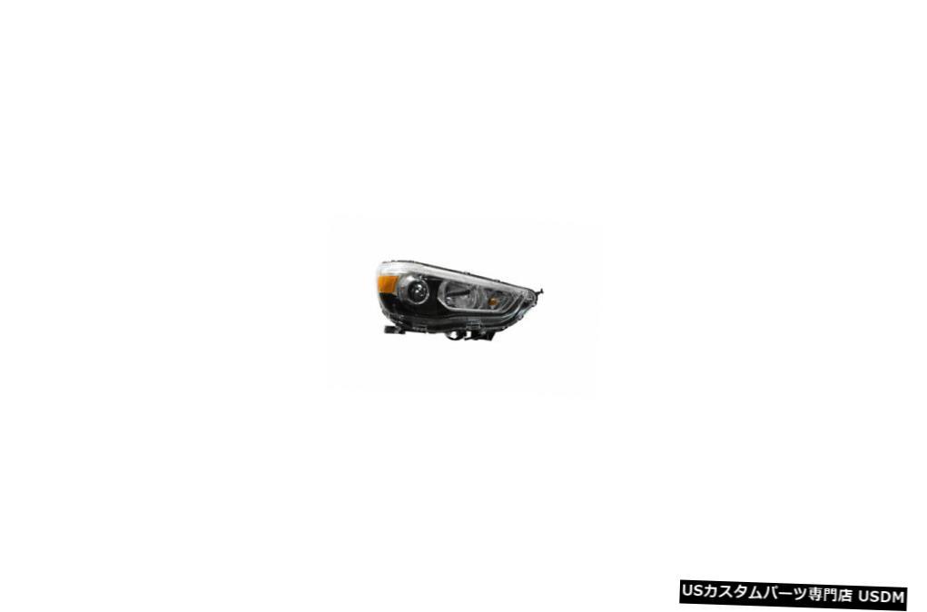 ヘッドライト 11-18三菱アウトランダースポーツハロゲン右助手席ヘッドライトCAPA 11-18 Mitsubishi Outlander Sport Halogen Right Passenger Headlight CAPA
