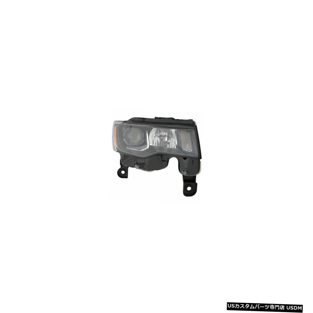 ヘッドライト 2017-2019ジープグランドチェロキーハロゲンフロントランプヘッドライト助手席右側 2017-2019 Jeep Grand Cherokee Halogen Front Lamp Headlight Passenger Right Side