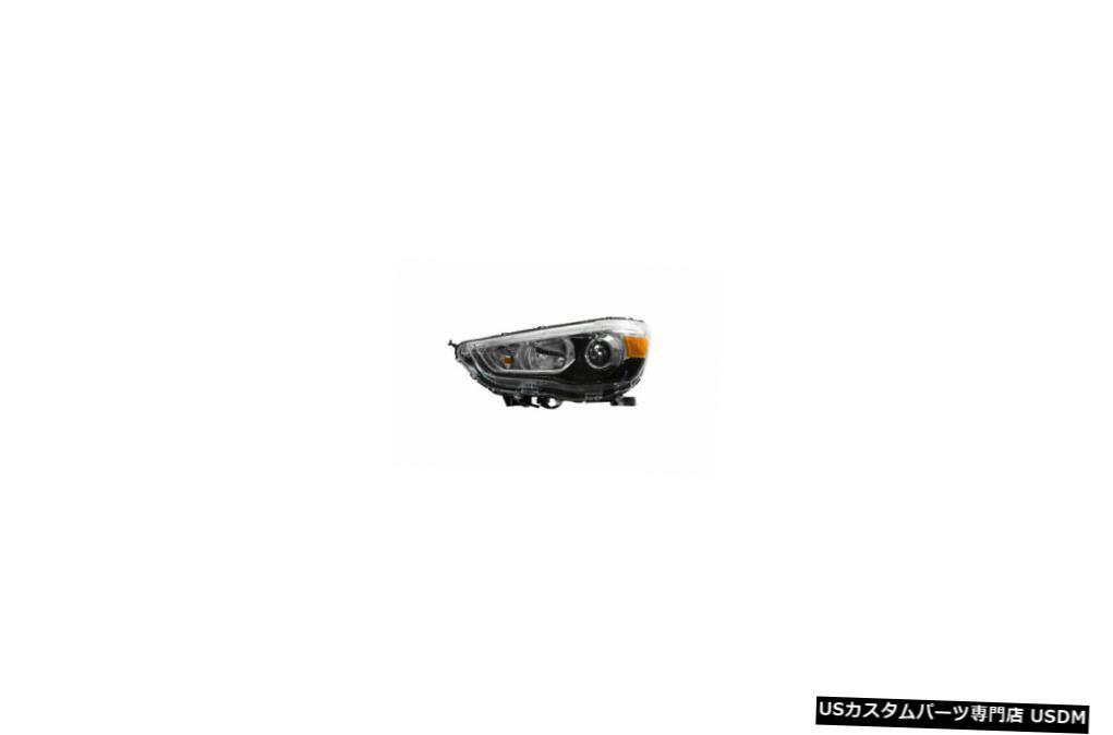 ヘッドライト 11-18三菱アウトランダースポーツハロゲン左ドライバーヘッドライトCAPA 11-18 Mitsubishi Outlander Sport Halogen Left Driver Headlight CAPA