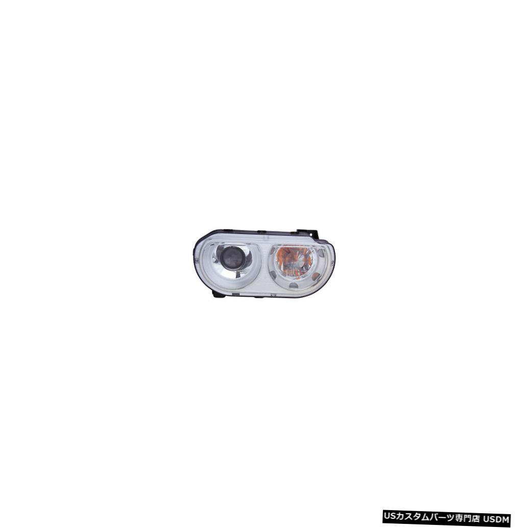 ヘッドライト 2008-2014ダッジチャレンジャー乗客右側HIDヘッドライトランプアセンブリ 2008-2014 Dodge Challenger Passenger Right Side HID Headlight Lamp Assembly