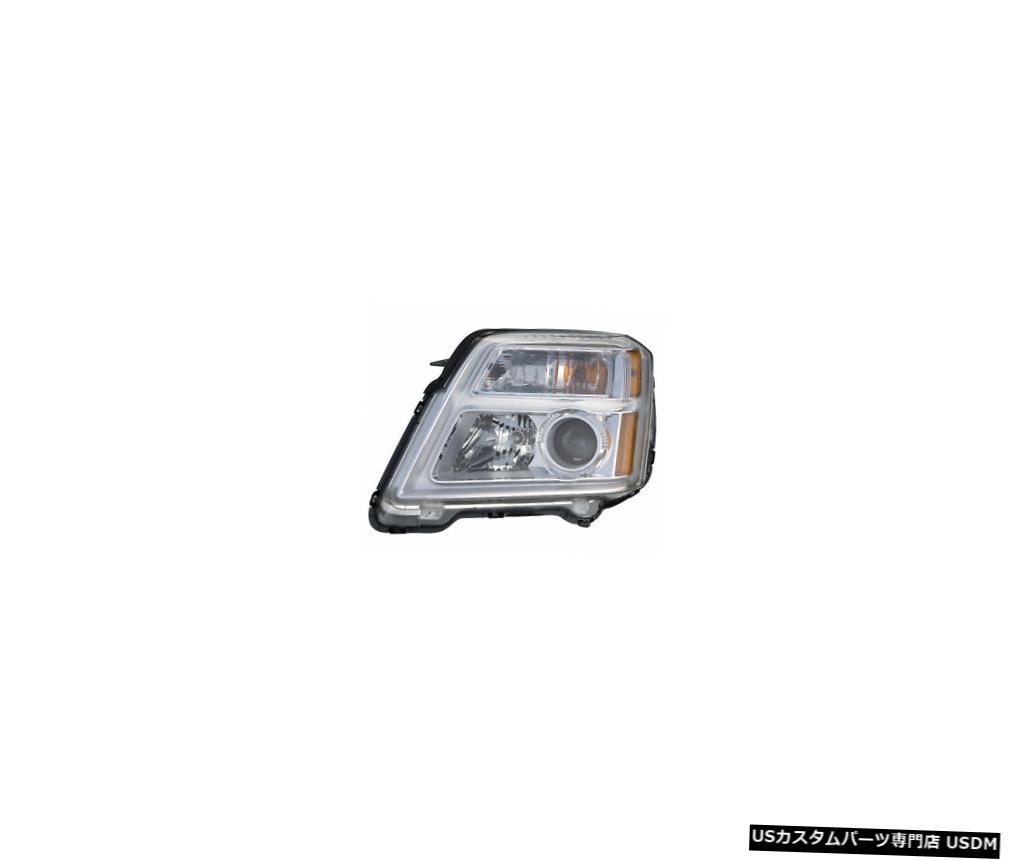 ヘッドライト 2010-2014 GMC地形ドライバー左側ハロゲンヘッドライトランプアセンブリ 2010-2014 GMC Terrain Driver Left Side Halogen Headlight Lamp Assembly