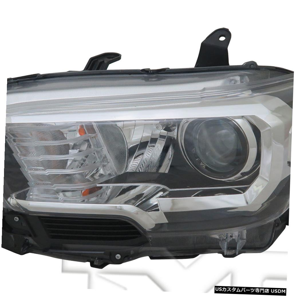 ヘッドライト 16-18 Toyota Tacoma Halogen w/Fog Light & DRL Headlight Driver Left Side
