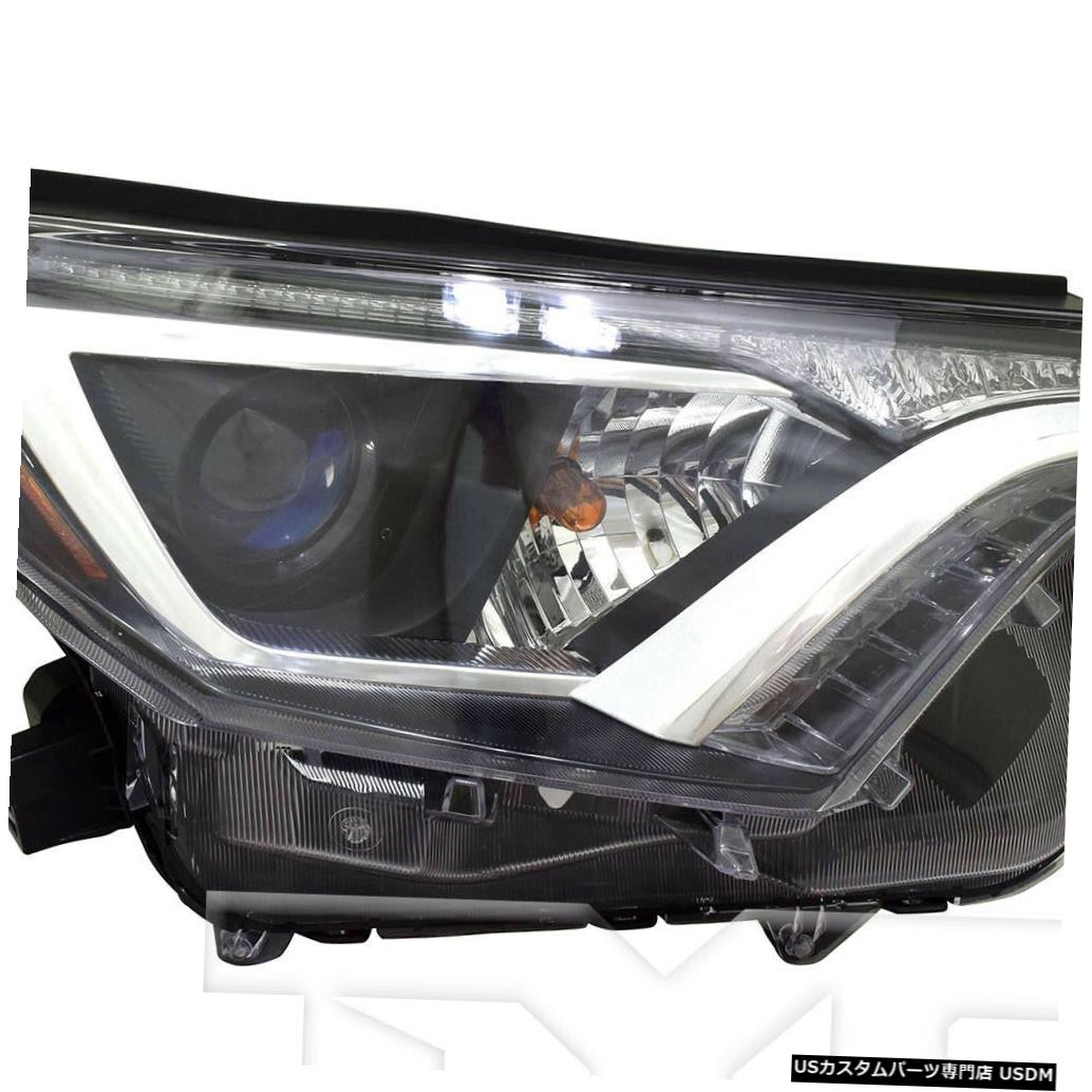 ヘッドライト 16-18トヨタRAV-4 LE / XLE USビルトライトパッセンジャーヘッドライトヘッドランプNSF 16-18 Toyota RAV-4 LE/XLE US Built Right Passenger Headlight Headlamp NSF
