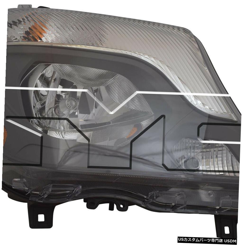 ヘッドライト 14-16メルセデスベンツメルセデススプリンターバンハロゲン右助手席ヘッドライトNSF 14-16 Mercedes Benz Mercedes Sprinter Van Halogen Right Passenger Headlight NSF
