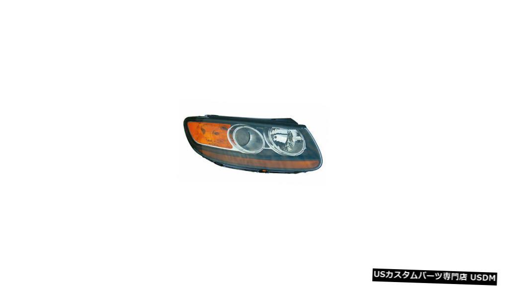 車用品 バイク用品 >> パーツ ライト ランプ ヘッドライト 2007-2009ヒュンダイサンタフェの乗客の右側ヘッドライトランプアセンブリに適合 Fits 国内即発送 2007-2009 Hyundai Right Lamp Santa 爆安プライス Assembly Fe Passenger Headlight Side