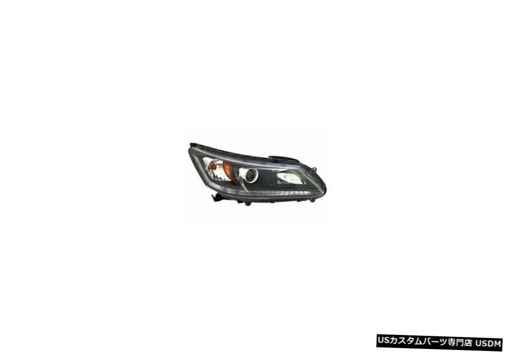 ヘッドライト 13-15ホンダアコードセダンハロゲンパッセンジャーヘッドライト 13-15 Honda Accord Sedan Halogen Passenger Headlight