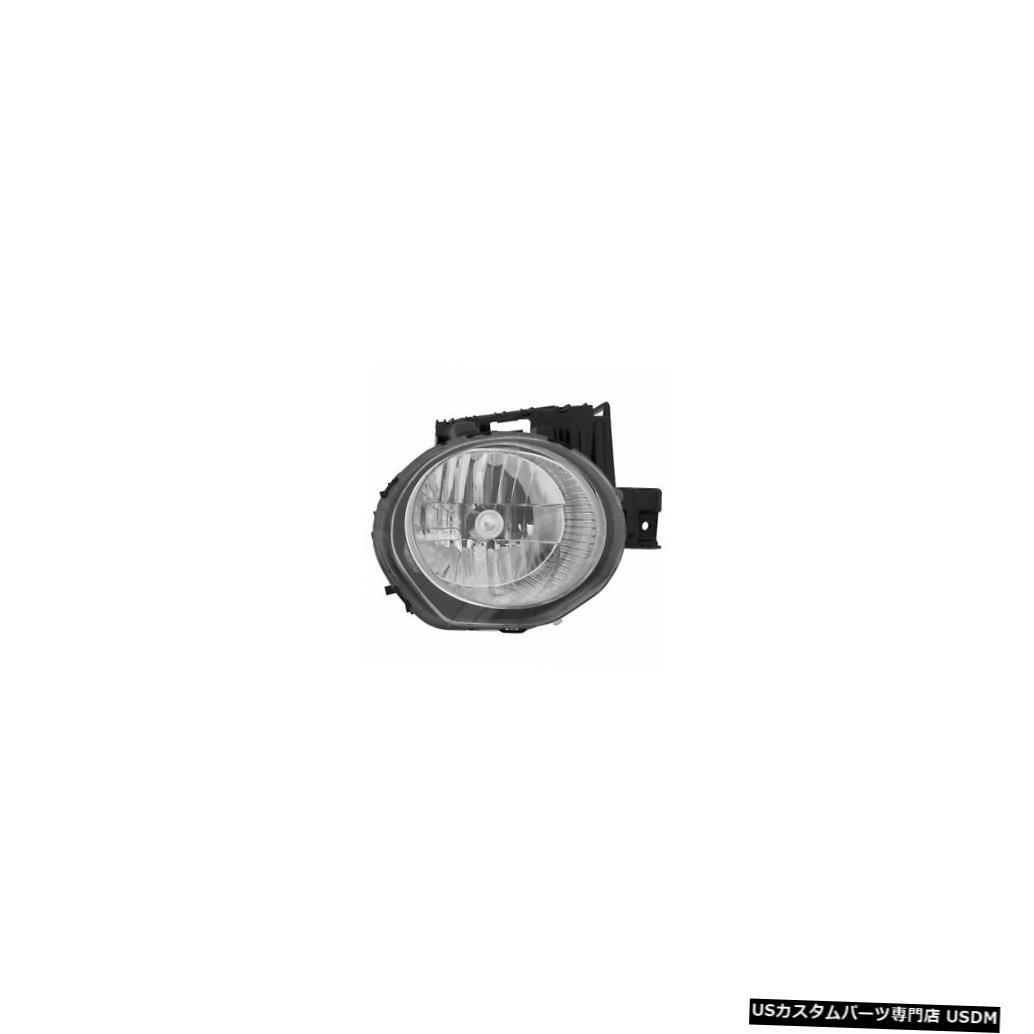 ヘッドライト 2011-2014日産ジュークパッセンジャーライトハロゲンヘッドライトランプアセンブリに適合 Fits 2011-2014 Nissan Juke Passenger Right Halogen Headlight Lamp Assembly