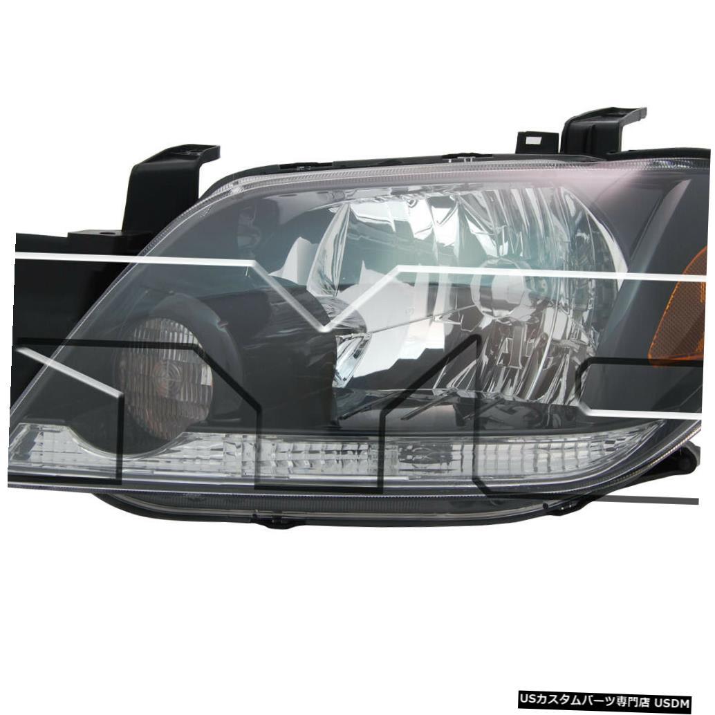 ヘッドライト 03-04三菱アウトランダーリレードライバーヘッドライトなし 03-04 Mitsubishi Outlander w/o Relay Driver Headlight