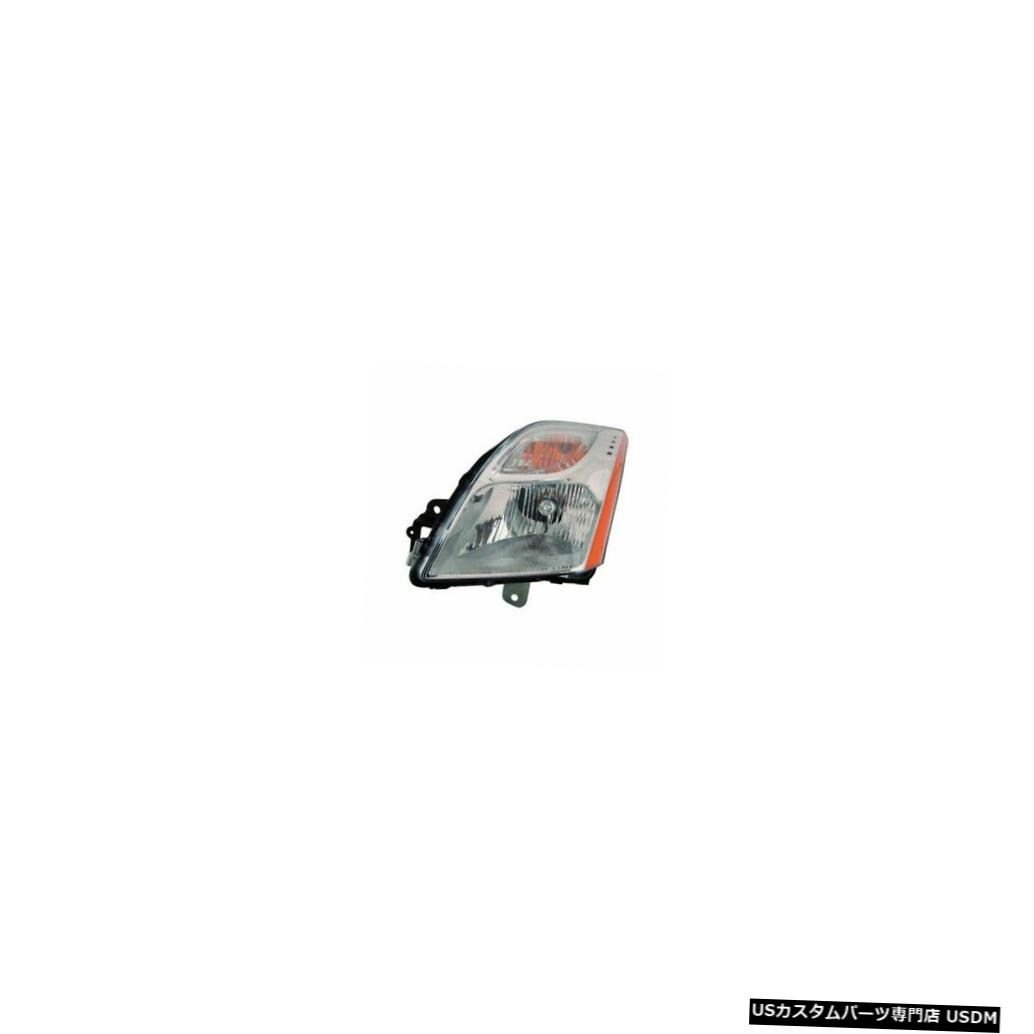 ヘッドライト 2010-2011日産セントラ2.0Lベース/ S / SLドライバー左側ヘッドライトランプに適合 Fits 2010-2011 Nissan Sentra 2.0L Base/S/SL Driver Left Side Headlight Lamp