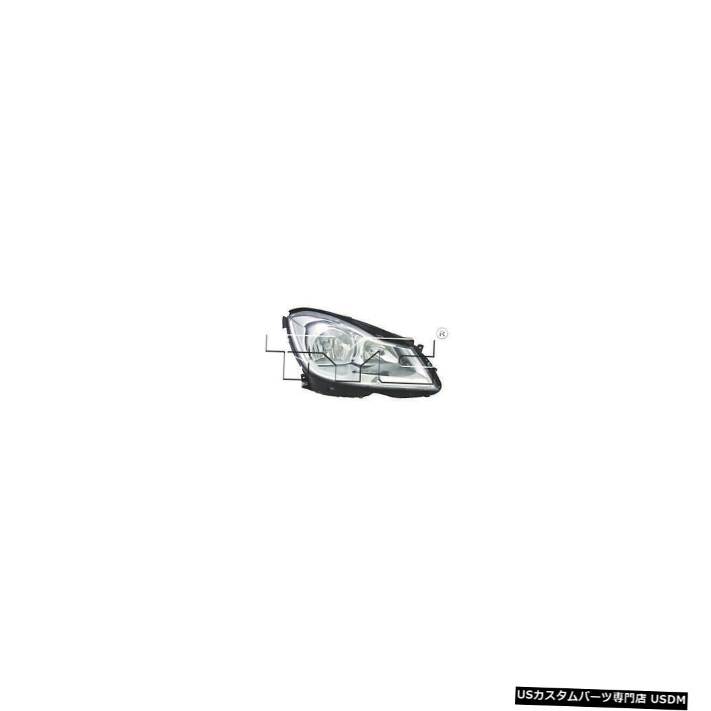 ヘッドライト 12-14メルセデスベンツCクラスセダンコーナリングランプなし助手席ヘッドライトCAPA 12-14 Mercedes Benz C-Class Sedan w/o Cornering Lamps Passenger Headlight CAPA