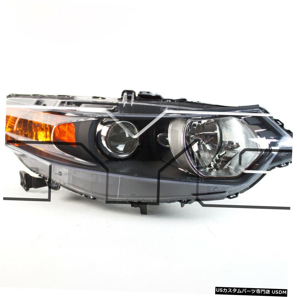 ヘッドライト 09-14アキュラTSXセダンUSバージョン/ 11-14ワゴン右助手席ヘッドライトNSF 09-14 Acura TSX Sedan US Version/11-14 Wagon Right Passenger Headlight NSF