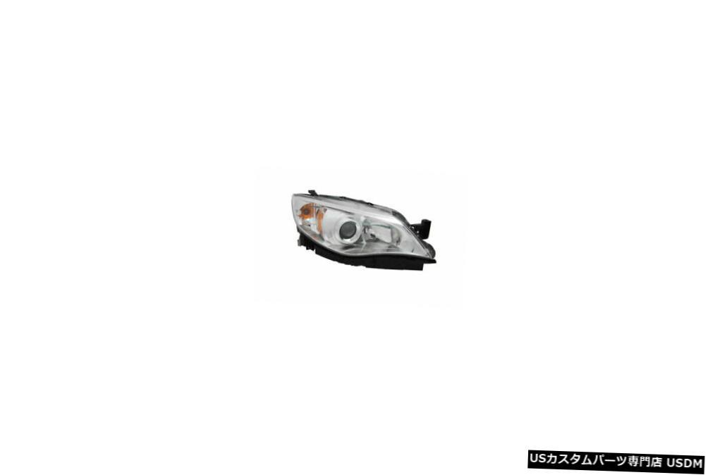 ヘッドライト 08-09スバルインプレッサ2.5GT /アウトバックスポーツハロゲンパッセンジャーヘッドライトに適合 Fits 08-09 Subaru Impreza 2.5GT/Outback Sport Halogen Passenger Headlight