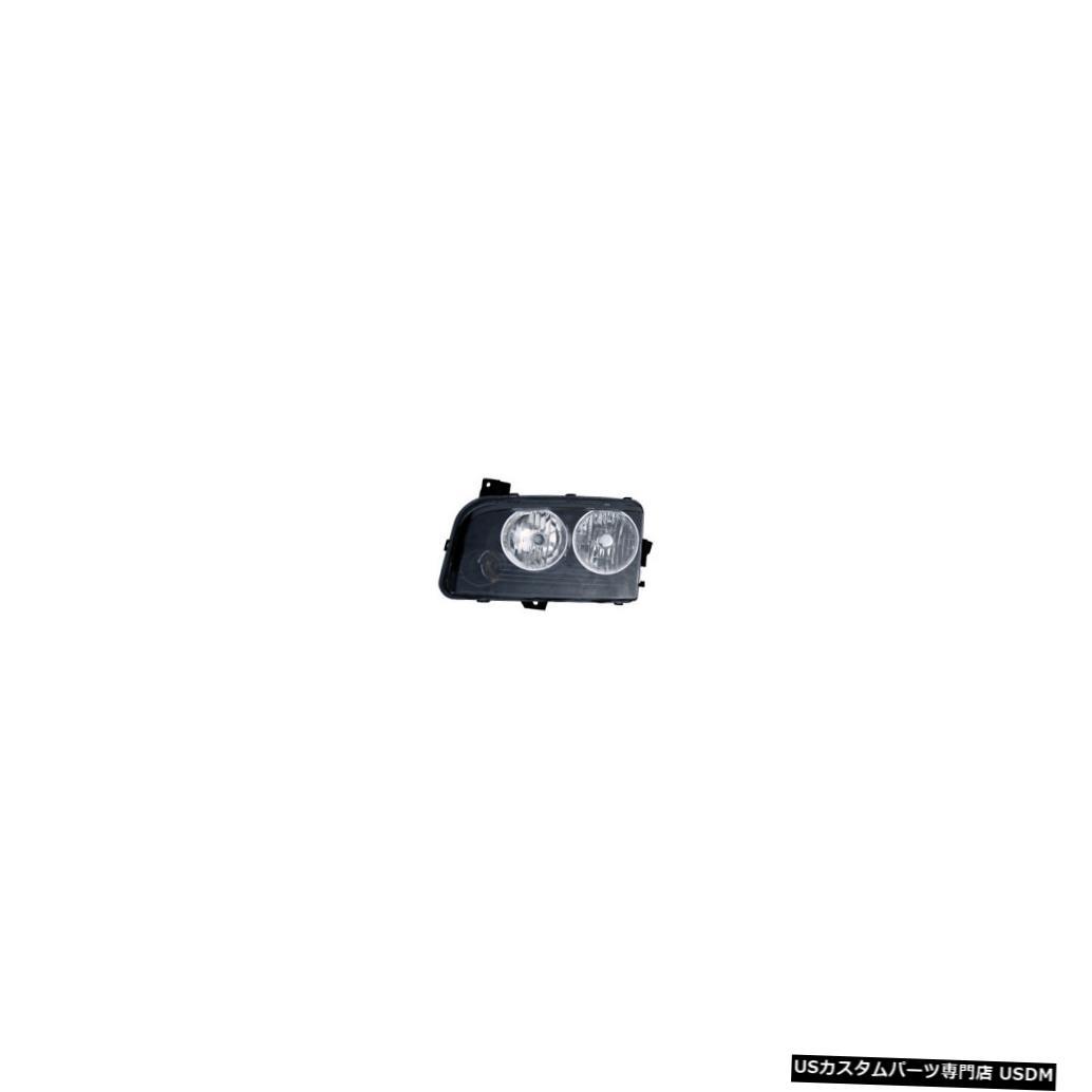 ヘッドライト 2006-2010ダッジチャージャーハロゲンフロントヘッドライトランプ右助手席側NSF 2006-2010 Dodge Charger Halogen Front Headlight Lamp Right Passenger Side NSF