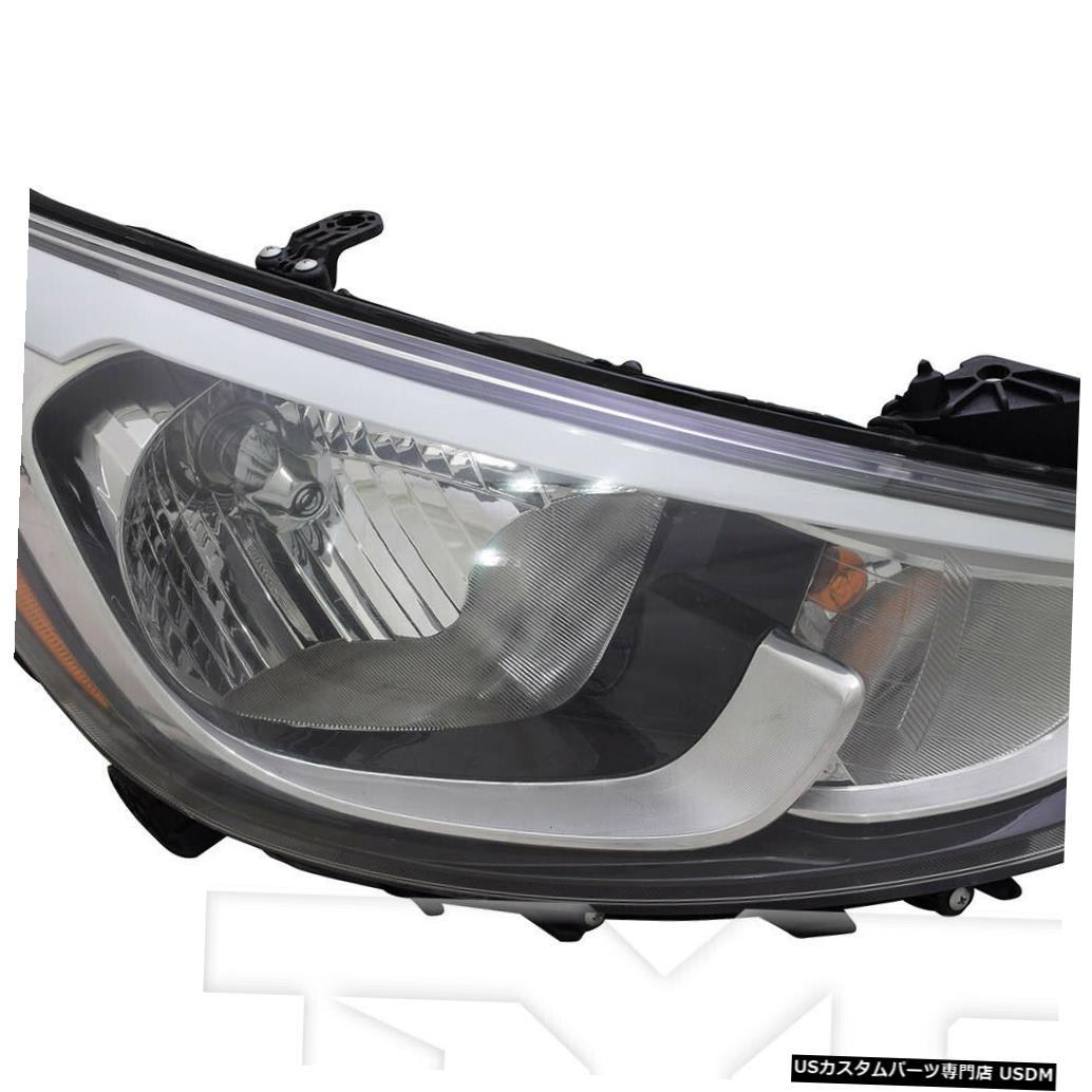 ヘッドライト 15?17ヒュンダイアクセント標準右乗客ヘッドライトヘッドランプNSFに適合 Fits 15-17 Hyundai Accent Standard Right Passenger Headlight Headlamp NSF