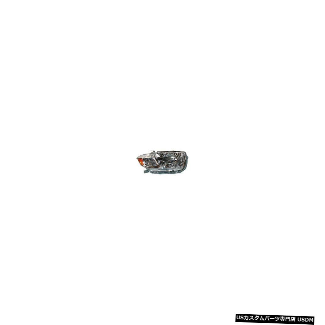 ヘッドライト 08-10トヨタハイランダーベース/限定右乗客用ヘッドライトヘッドランプNSF 08-10 Toyota Highlander Base/Limited Right Passenger Headlight Headlamp NSF