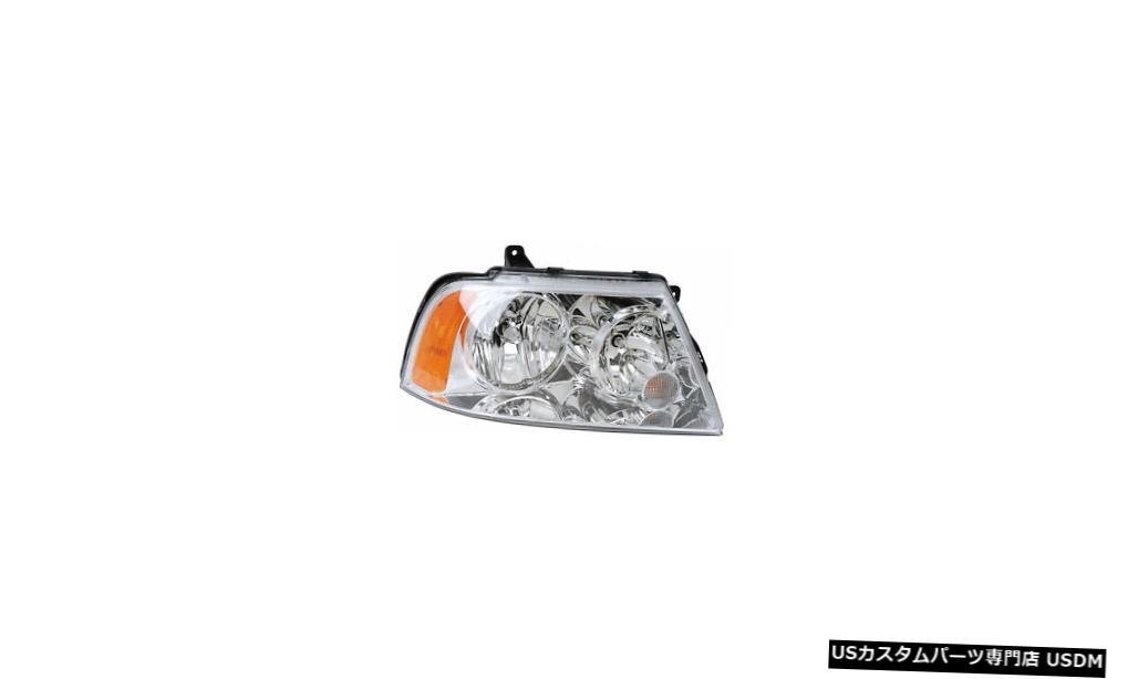 ヘッドライト 2003-2006リンカーンナビゲーター乗客右側ハロゲンヘッドライトランプアセンブリ 2003-2006 Lincoln Navigator Passenger Right Side Halogen Headlight Lamp Assembly