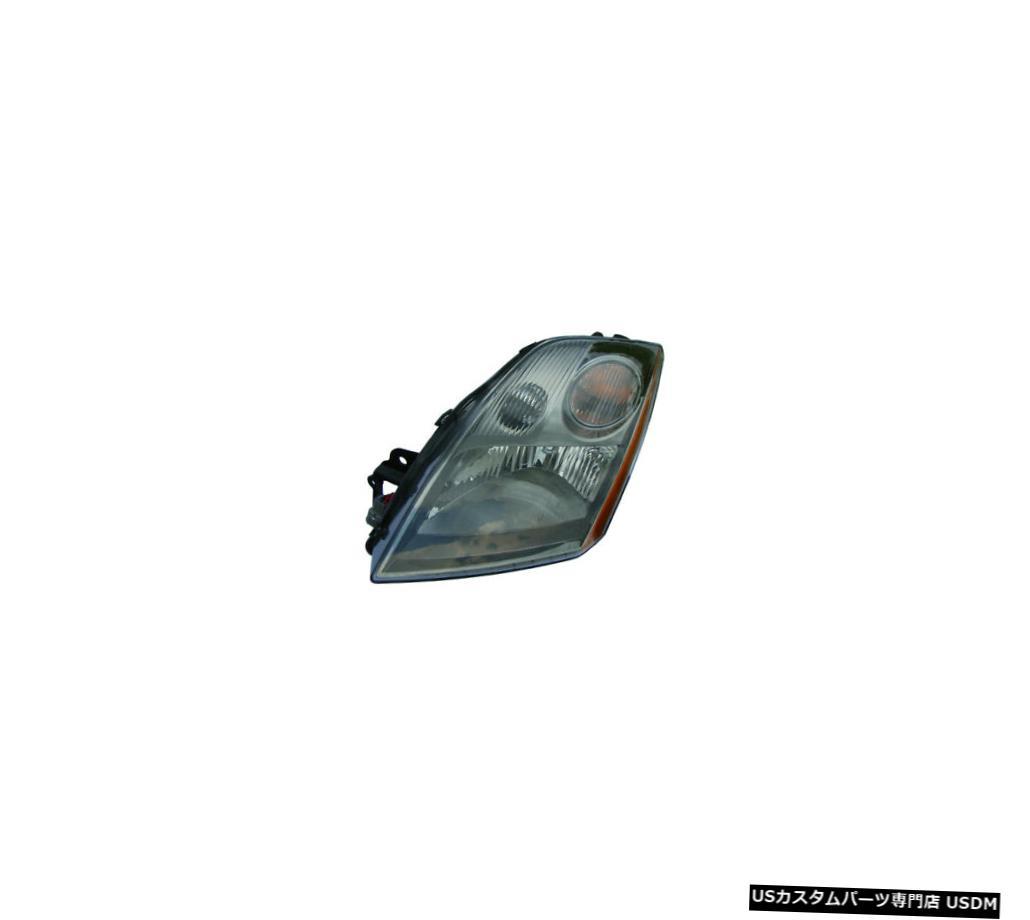 ヘッドライト 2007-2009日産セントラ2.5Lドライバー左ヘッドライトランプアセンブリに適合 Fits 2007-2009 Nissan Sentra 2.5L Driver Left Headlight Lamp Assembly