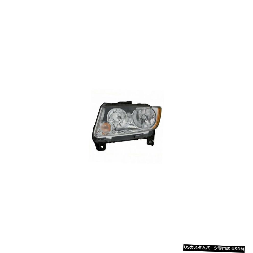 ヘッドライト 2011-2013ジープコンパスドライバー左側ヘッドライトランプアセンブリ 2011-2013 Jeep Compass Driver Left Side Headlight Lamp Assembly