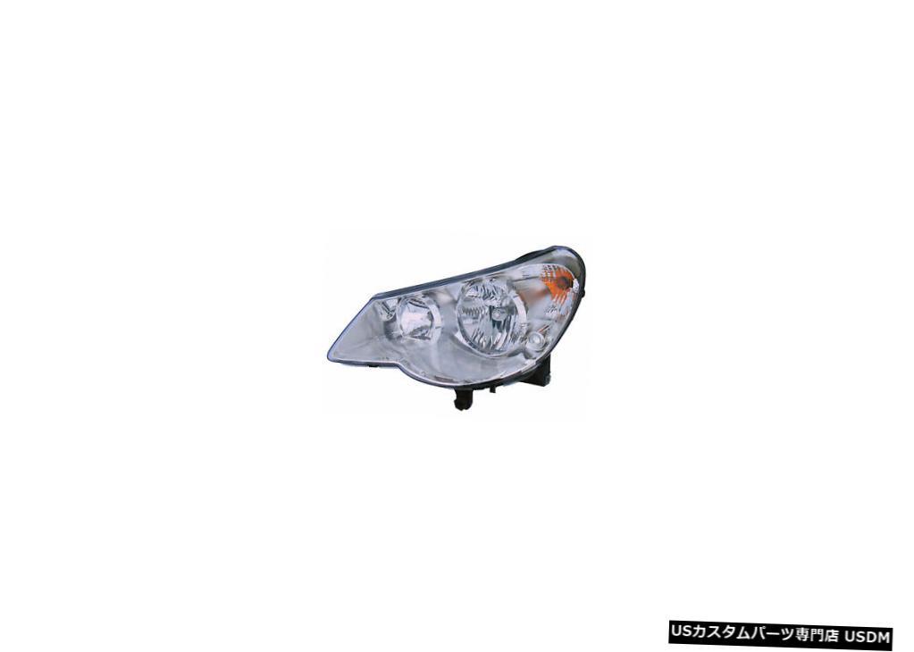 ヘッドライト 2007-2010クライスラーセブリングセダンドライバー左側ヘッドライトランプアセンブリ 2007-2010 Chrysler Sebring Sedan Driver Left Side Headlight Lamp Assembly