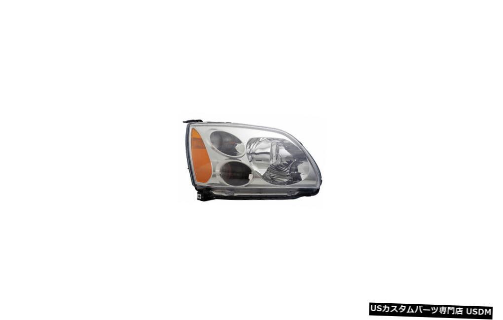ヘッドライト 2004-2010三菱ギャラントの乗客の右側のヘッドライトランプアセンブリ 2004-2010 Mitsubishi Galant Passenger Right Side Headlight Lamp Assembly
