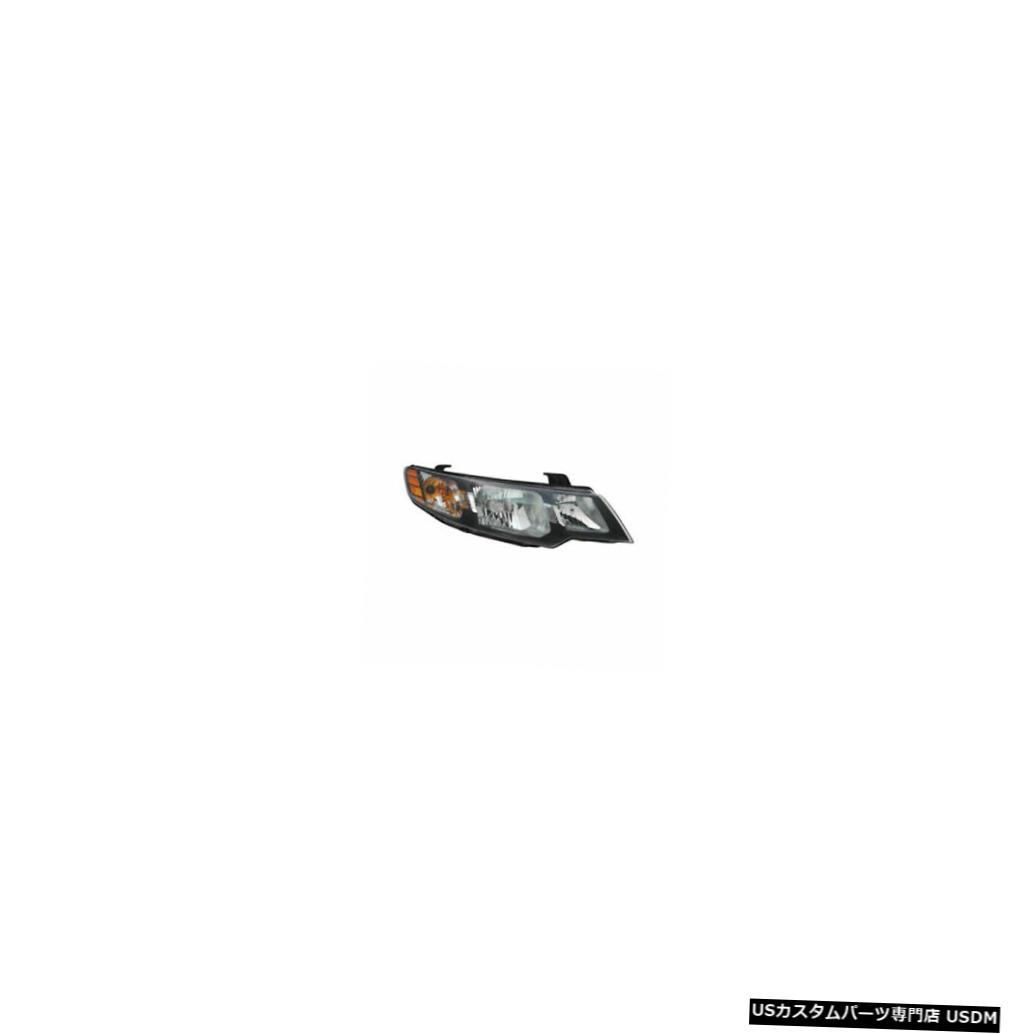 ヘッドライト 10-13起亜フォルテセダン/ 11-13フォルテハッチバック右乗客ヘッドライトCAPAに適合 Fits 10-13 Kia Forte Sedan/11-13 Forte Hatchback Right Passenger Headlight CAPA