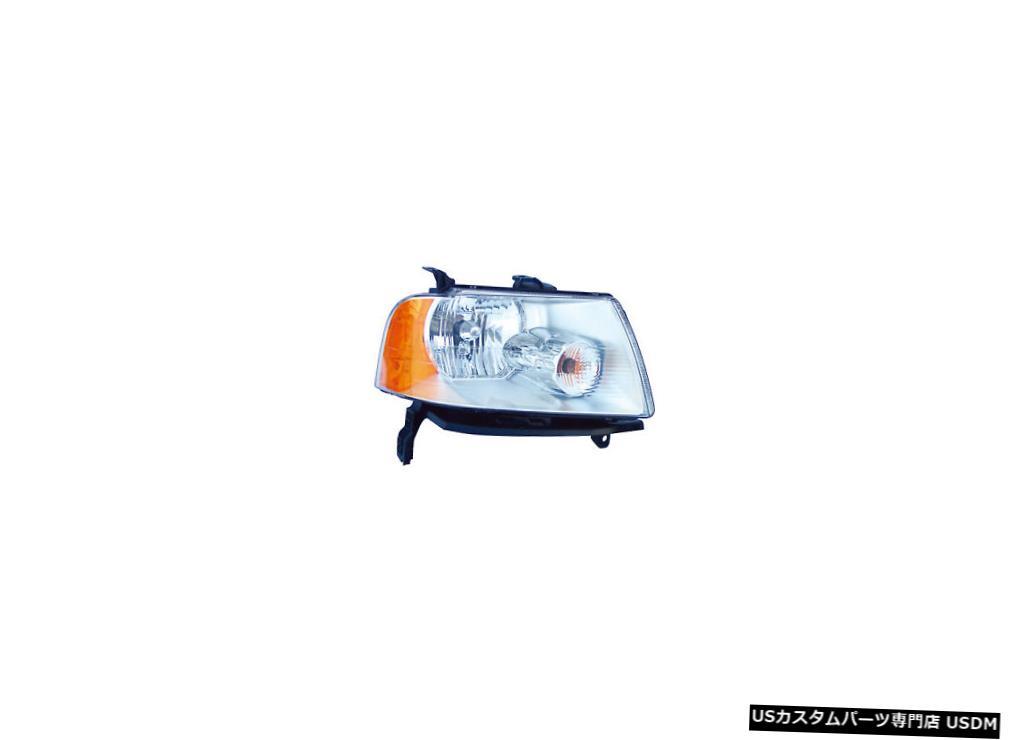 ヘッドライト 2005-2007フォードフリースタイル乗客右側ヘッドライトランプアセンブリ 2005-2007 Ford Freestyle Passenger Right Side Headlight Lamp Assembly
