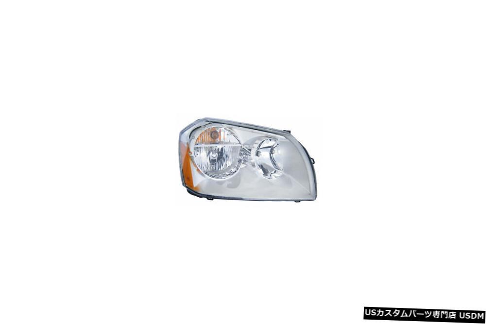 ヘッドライト 2005-2007ダッジマグナム5.7L乗客右側クロムリムヘッドライトランプ 2005-2007 Dodge Magnum 5.7L Passenger Right Side Chrome Rim Headlight Lamp