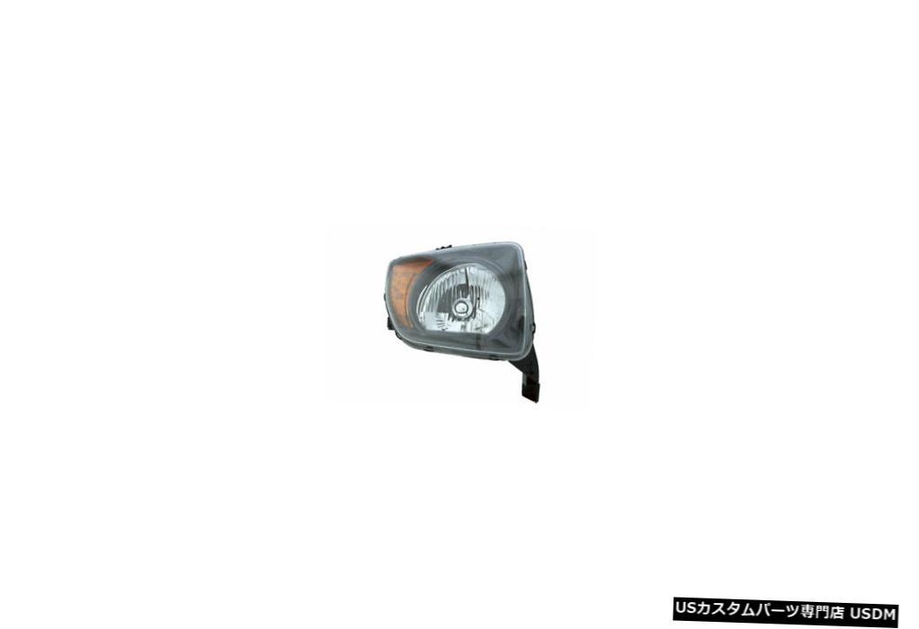 ヘッドライト 07-08ホンダエレメントヘッドライトユニット助手席側 07-08 Honda Element Headlight Unit Passenger Side